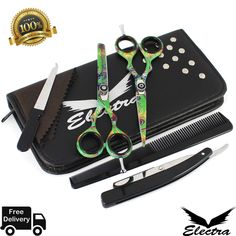 Hair Cutting,Thinning Scissors Shears Set Hairdressing Salon Professional Barber for sale online Nail Clippers, Scissors, Hairdresser, Barber, Salons, Hair Cuts, Ebay, Haircuts, Lounges