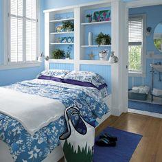 Blue bedroom - sky blue