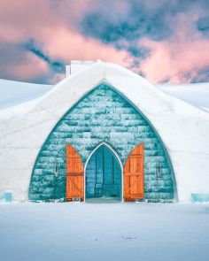 Would you stay in an Ice Hotel? Tap for inspiration . 24 - 120 mm ISO Lo 1 / 50 s Handheld . Ice Hotel, Building, Travel, Inspiration, Instagram, Biblical Inspiration, Viajes, Buildings, Trips