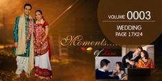 Wedding Page Volume - 0003 Wedding Album Cover, Wedding Album Layout, Wedding Photo Albums, Wedding Photos, Photography Couples, Indian Wedding Photography, Free Wedding Templates, Happy Morning Quotes, Album Cover Design