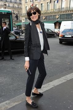 Ines de la Fressange - Best Looks - Elle