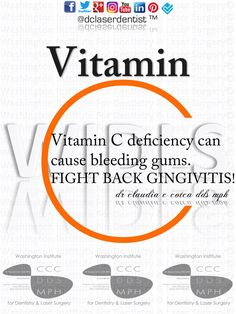 Did you know that #lack of #VitaminC in your diet can show in your #teeth?! Keep your #gums & teeth healthy by eating Vitamin C rich foods like #oranges, #carrots, sweet #potatoes & red #peppers! #drclaudiacotca #dclaserdentist  #dentistry #claudiacotcadds #drclaudiacotcadds #oralhealth #dentalhealth #healthysmile dclaserdentist.com