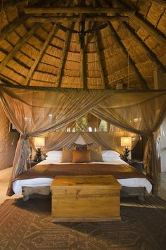 Interior design | decoration | home decor |  Botswana Safari lodge  | Come enjoy the experience of buying or selling real estate in NYC with us at http://philippechoplin.elliman.com/