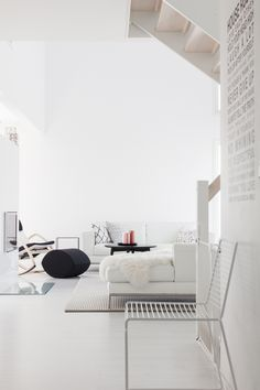 lisbet e. | white living room