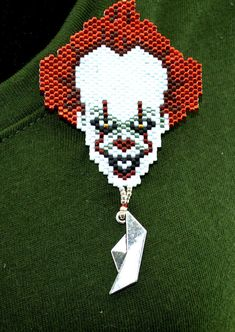 Scary Clown Pin