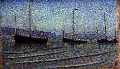 Georges Lemmen, Fishing Boats