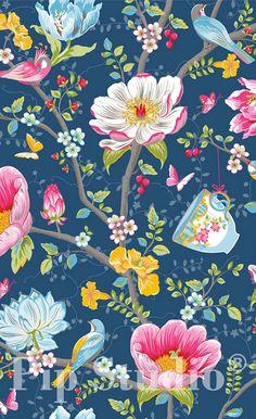 Papier peint Chinese Garden - Pip Studio