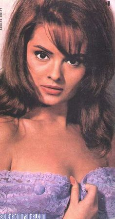 1960s Cult / Style Icon: Actress and muse of Spanish Film Director Jess Franco, Soledad Miranda sometimes referred to as Susann Korda or Susan Korday   Pinned from www.thankyouforbeingsophisticated.com