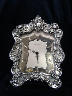 Lovley Gorham Sterling Silver Antique Alarm Clock | eBay