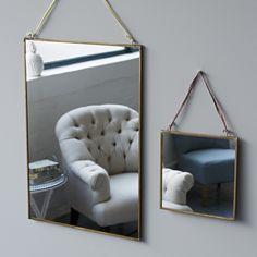 Brass framed Mirrors