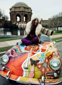 Janis Joplin, 1960's.