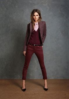Wine Color Outfits to Stay Romantic This year0051