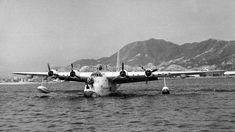 Kai Tak Airport, Short Sunderland, Sea Planes, British Hong Kong, Float Plane, China Hong Kong, Flying Boat, Driveway Gate, Boats