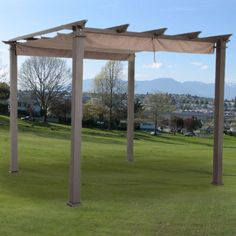 Charming Replacement Canopy For Hampton Bay 9ft Pergola   RipLock 350