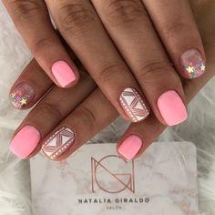 Bridal Nails, Dream Nails, Nail Art Designs, Manicure, Beauty, Designed Nails, Work Nails, Tatoo, Polish Nails