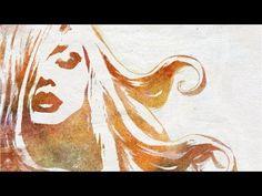 Photoshop Tutorial realistic Water color Effekt (ENGLISH subtitle) - YouTube