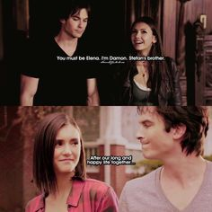 Their supposed meeting & supposed ending The Vampire Diaries, Damon Salvatore Vampire Diaries, Vampire Diaries Poster, Vampire Diaries Wallpaper, Vampire Diaries The Originals, Legacy Tv Series, Cw Series, Damon Quotes, Gruseliger Clown