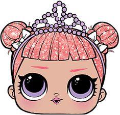 rosto lol 6 Lol Dolls, Cute Dolls, Hi Gorgeous, Fancy Bows, Printable Box, Ideas Para Fiestas, Love Art, Party Themes, Activities For Kids