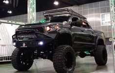 There are plenty of 2nd gen Toyota Tundra show trucks out there, but what about 2014s? Here is one with a beastly look the Toyota designers were going for..