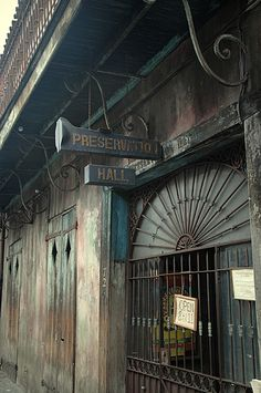 Preservation Hall is a historic music venue in the French Quarter working to protect, preserve and perpetuate the spirit of traditional New Orleans jazz. New Orleans Music, Downtown New Orleans, New Orleans Vacation, New Orleans Travel, New Orleans Louisiana, Louisiana Usa, Preservation Hall New Orleans, Great Places, Places To See