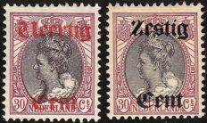 Nederland 1919 - Hulpuitgifte - NVPH 102/103