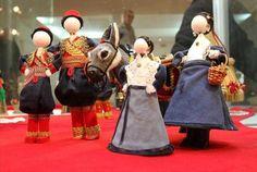 Croatian Art National Dress - Chasing the Donkey