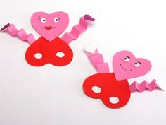 Very cute Valentine's craft for kids...