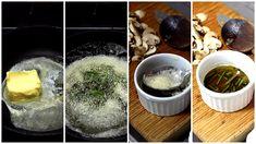 Derreta a manteiga em uma panela, quando estiver quente e meio com tom de caramelo, desligue o fogo e coloque as folhas de sálvia. Transfira para um recipiente e retire a espuma da superfície com uma colher. Sirva com massas, batatas, nhoques... #manteiga #molho