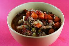 A Year of Slow Cooking: Italian Minestrone Soup in the Slow Cooker