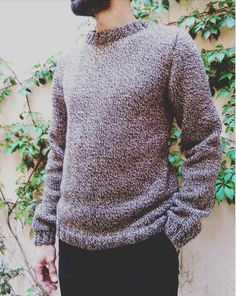 Discover recipes, home ideas, style inspiration and other ideas to try. Men Sweater, Pullover, Style Inspiration, Crochet, Sweaters, Tips, Fashion, Crochet Socks, Moda