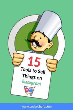 Learn about fifteen Instagram selling tools to help your business sell products, goods and services on Instagram and monetize your channel. via @socialchefs