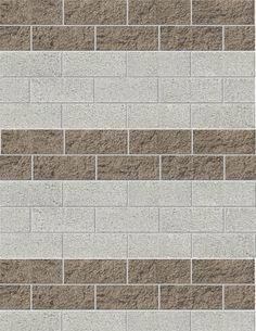 just paint the grout a medium color . Painting Concrete Walls, Concrete Block Walls, Cinder Block Walls, Cement Walls, Cinder Blocks, Brick Fence, Concrete Fence, Exterior Paint, Exterior Design