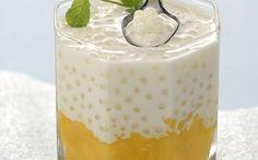 """Mango Con Leche De Coco Y Tapioca"" en Nestlé Cocina #recetas #nestlecocina…"