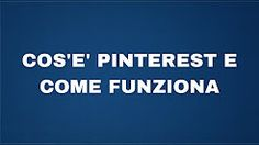 pinterest italiano - YouTube