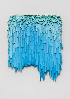 "Artist, Lauren Clay, ""A good measure, pressed down, shaken together, running over"" (2009)"