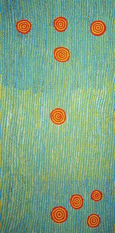 Aboriginal Art. Love the simple but complex design.