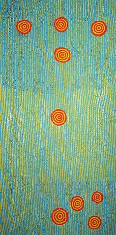 Aboriginal Art. Love the simple but complex design.