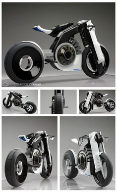 Honda Oree Electric Motorcycle Concept 2012