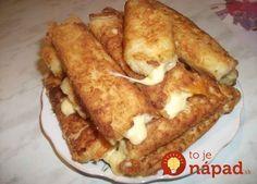 Potato sticks with cheese Crisp, potato and soft cheese inside. Delicious) Ingredients: ● 5 medium boiled potatoes ● 2 eggs ● of Pizza Recipes, Crockpot Recipes, Vegetarian Recipes, Cooking Recipes, Potato Recipes, Potato Sticks, Tasty, Yummy Food, Party Snacks