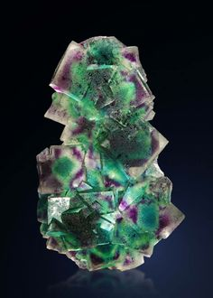 Amazing Fluorite piece, to unite the energies of the heart and the mind.