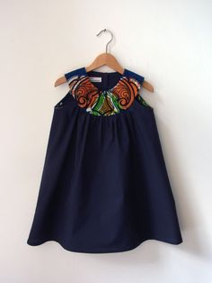 Hey, I found this really awesome Etsy listing at http://www.etsy.com/listing/127581703/dress-zoe-africa-wide-dark-blue-girls