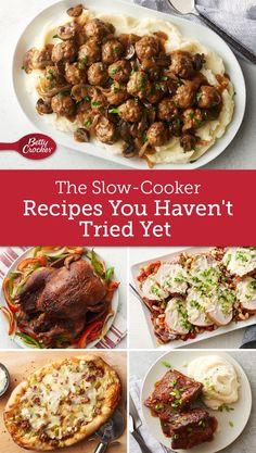 betty crockers slow cooker cookbook