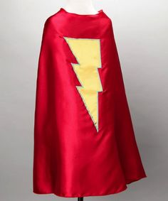 Red Kids Superhero Cape with a Yellow Lightning Bolt Superflykids,http://www.amazon.com/dp/B005G3NJXG/ref=cm_sw_r_pi_dp_bKcGtb1YDP9VJVR9