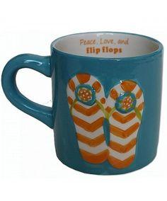 Flip Flop Coffee Mug - HOME DECOR