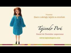 Abrigo o saco para muñeca - Tejiendo Perú...