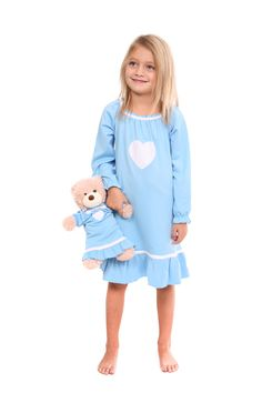 Two Adorable Sweet Heart Gown in Blue | Two Adorable $68.00