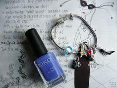 Violet nail polish from Kiko | Esmalte roxo Kiko Make Up Milano