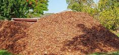 bulk-mulch Wood Chip Mulch, Types Of Mulch, Rubber Mulch, Organic Mulch, Crushed Stone, Weed Seeds, Landscape Fabric, How To Run Longer