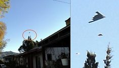 B1 Bomber accompanied by two UFOs above Glendale, California? |UFO Sightings Hotspot
