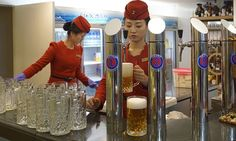 Event showcases ales produced by Taedonggang brewery built by Kim Jong-il, NK…